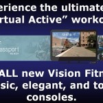 Virtual Active on all new Vision Fitness Consoles