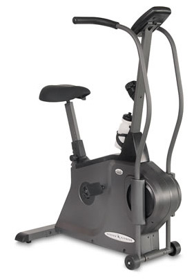 Vision Fitness E4000 Dual-Action Upright Bike
