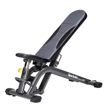 SportsArt A991 Adjustable Dumbbell Bench